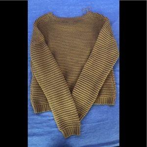 aeropastle yellow sweater